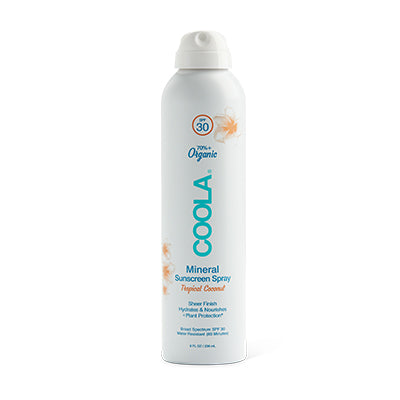 Coola Mineral Sunscreen Spray Tropical Coconut SPF30