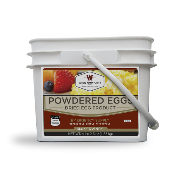 Powdered Eggs 144 Servings