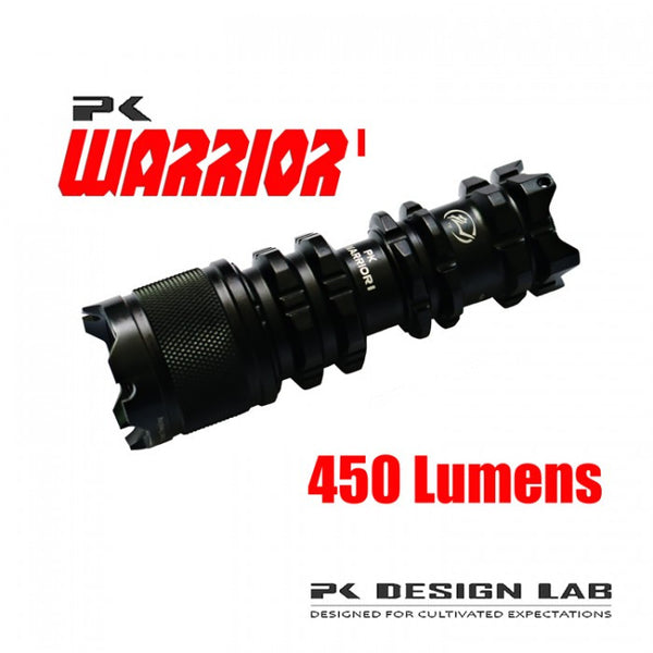 PK Warrior I 450 Lumen LED Flashlight