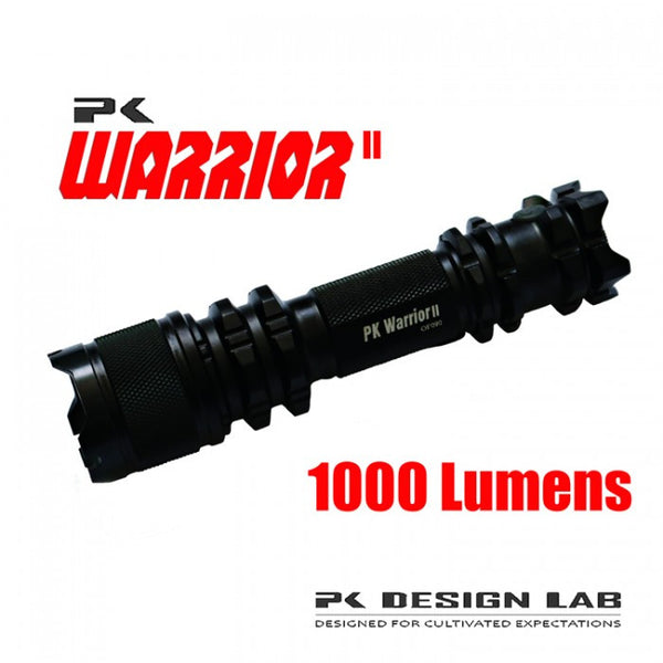 PK Warrior II 1,000 Lumen LED Flashlight