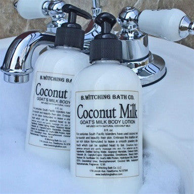 B. Witching Bath Company:  Coconut Milk Goat's Milk Body Lotion
