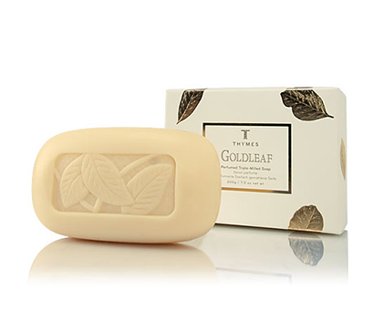 Thymes Goldleaf Soap Bar- 7oz