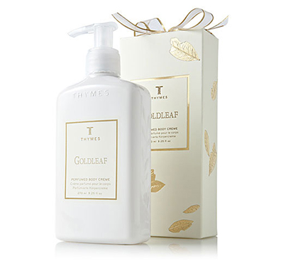 Thymes Goldleaf Body Creme- 9.5oz