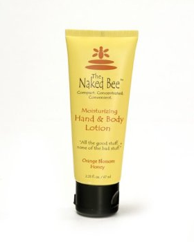 Naked Bee: Orange Blossom Honey- Hand and Body Lotion- 2.25oz tube