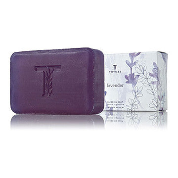 Thymes Lavender Glycerine Bar Soap- 6.8oz