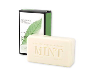 Archipelago Morning Mint Bar Soap- 5.2oz