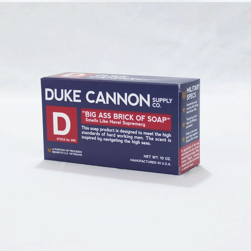 Duke Cannon Big Ass Soap:  Blue Bar