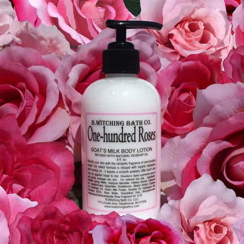 B. Witching Bath Company:  One Hundred Roses Goat's Milk Body Lotion