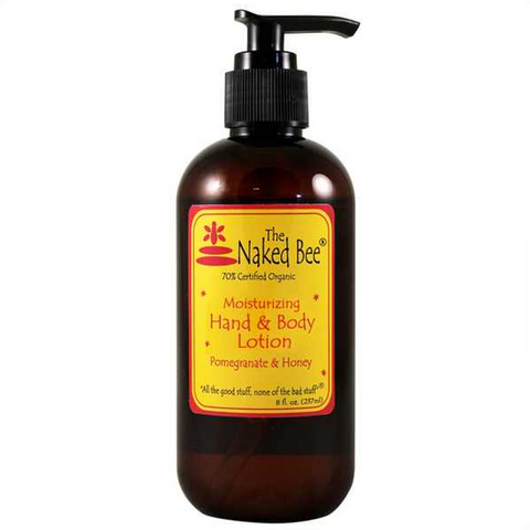 Naked Bee: Orange Blossom Honey- Hand and Body Pump Lotion- 8oz