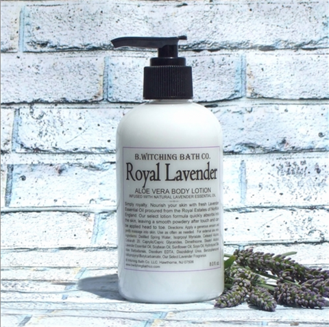B. Witching Bath Company: Royal Lavender Aloe Vera Lotion