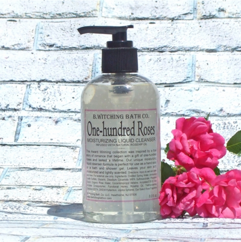 B. Witching Liquid Cleanser - One Hundred Roses - 8oz