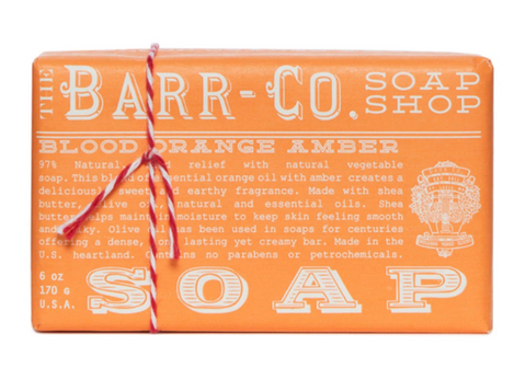 Barr Co. Bar Soaps - Blood Orange Amber - 6oz