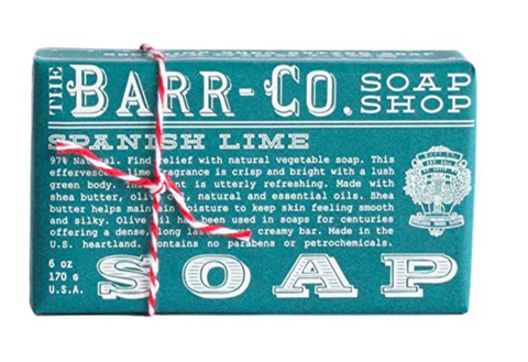 Barr Co. Bar Soaps - Spanish Lime - 6oz