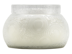 Voluspa Mokara- Embossed Glass Chawan Bowl (14oz)