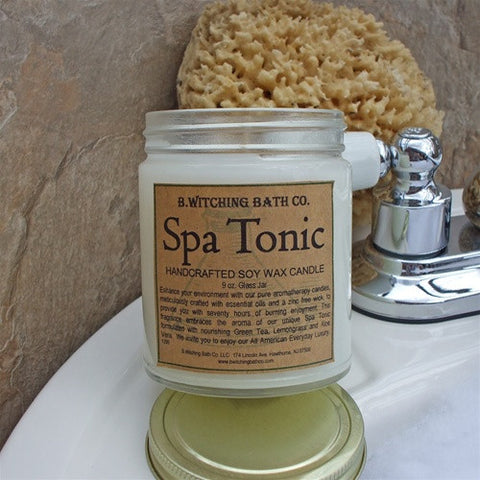 B. Witching Bath Company: Spa Tonic Handcrafted Soy Wax Candle