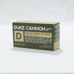 Duke Cannon Big Ass Soap:  Green Bar
