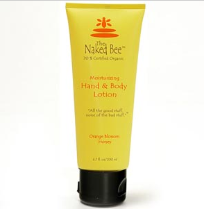 Naked Bee: Orange Blossom Honey- Hand and Body Lotion-6.7oz tube