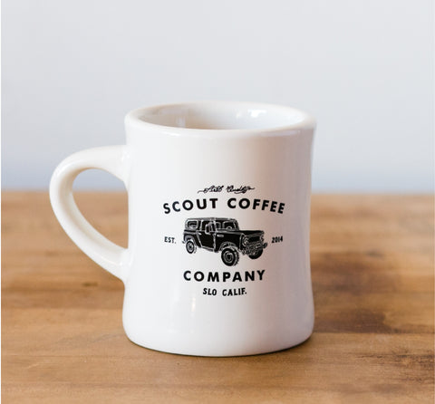 Scout Coffee Truck Diner Mug