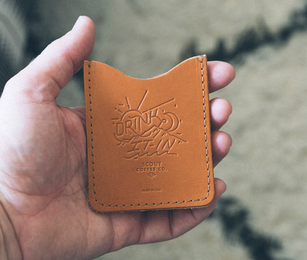 Scout Leather Card Wallet