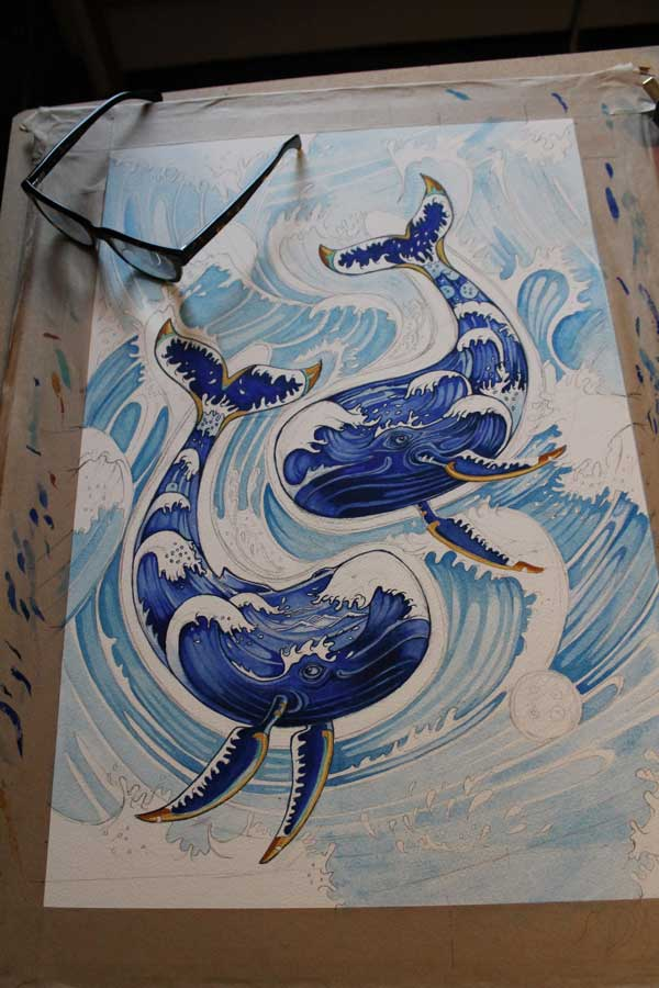 Whales repeat pattern in progress- The DM Collection