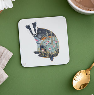 Badger - Coaster - The DM Collection