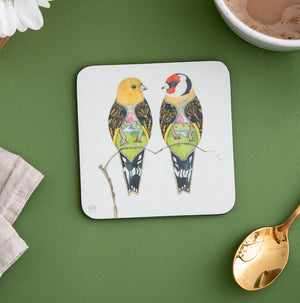 Goldfinches - Coaster