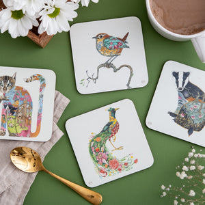 Hare in a Meadow - Coaster - The DM Collection