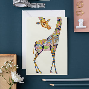 Giraffe - Card - The DM Collection