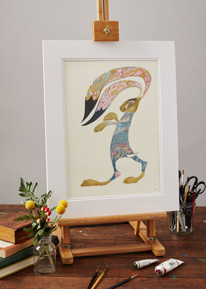 Hare Boxing - Print