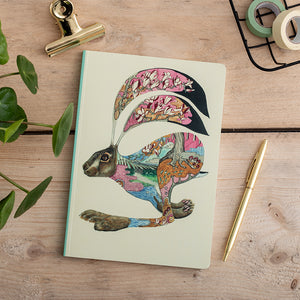 Perfect Bound Notebook - Hare