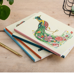 Perfect Bound Notebook - Red Fox