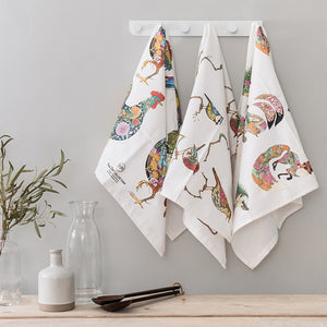 Tea towel - Chickens