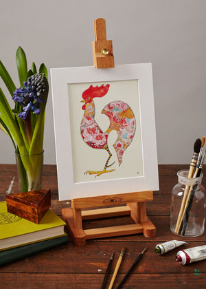 Little Red Rooster  - Print