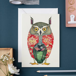Long Eared Owl - Card - The DM Collection