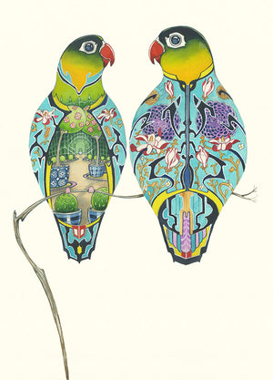Lovebirds  - Print - The DM Collection