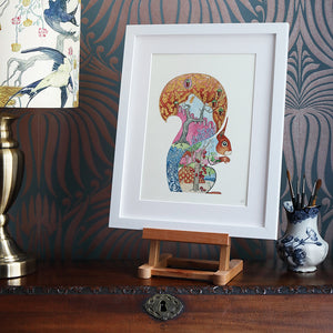 Red Squirrel - Print - The DM Collection