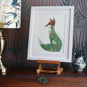 Fox in a Meadow - Print - The DM Collection