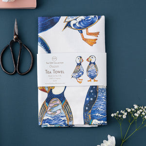 Tea Towel - Ocean - The DM Collection