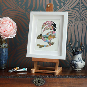 Hare Running - Print - The DM Collection
