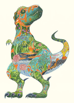 Tyrannosaurus Rex - Print - The DM Collection