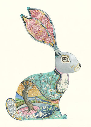 Bunny  - Print - The DM Collection