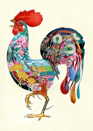 Rooster -  Card