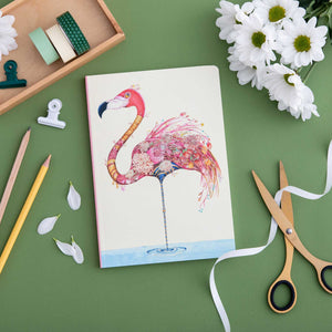 Perfect Bound Notebook - Flamingo - The DM Collection