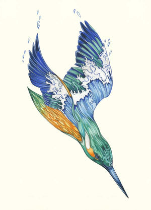 Kingfisher - Card