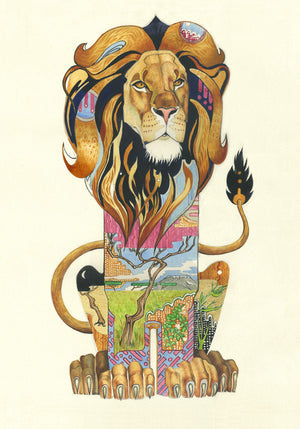 Lion - Print - The DM Collection