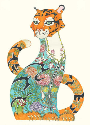Tiger in the Jungle - Card