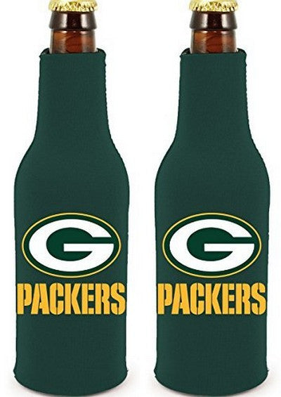 Green Bay Packers Official NFL Koozie Cooler 2-pack