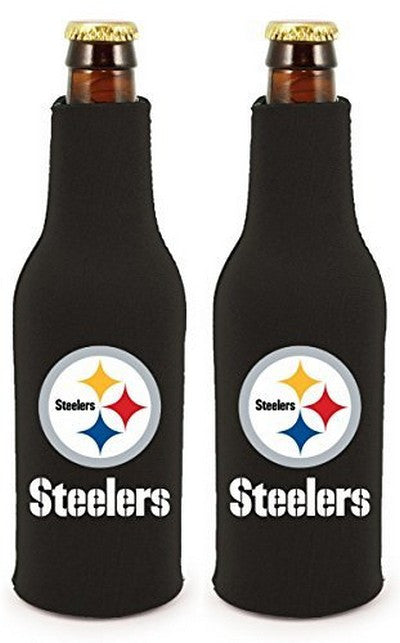 Pittsburgh Steelers Official NFL Koozie Cooler 2-pack
