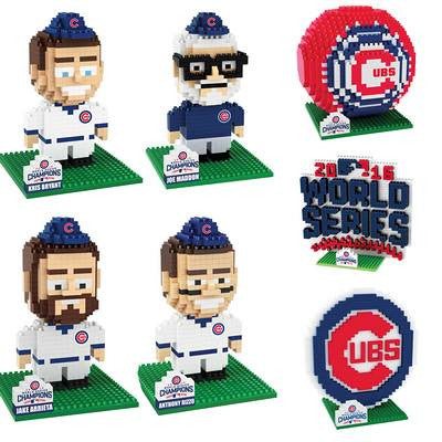 Chicago Cubs Official MLB World Series Champions BRXL 3D - Choose your Set!