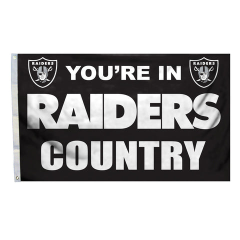 Oakland Raiders Country 3X5 Flag